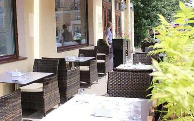 Банкетный зал ресторана RoseMary на Сытнинской улице