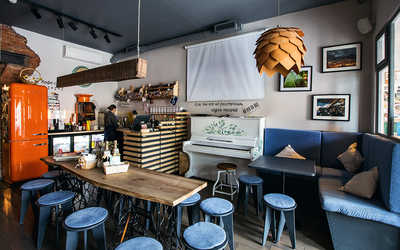 Банкетный зал кафе УКРОП квартира на 7-й линии