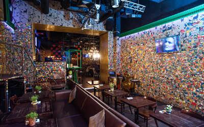 Банкетный зал бара, кафе Диду (Didu) на Мясницкой улице