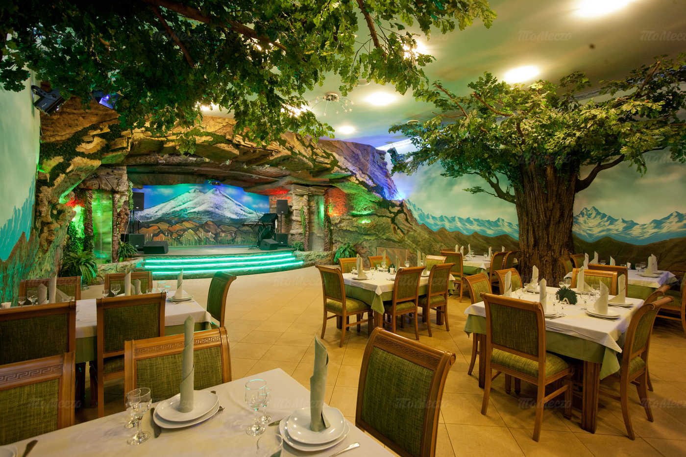 Меню ресторана Акбаш на Полярной улице