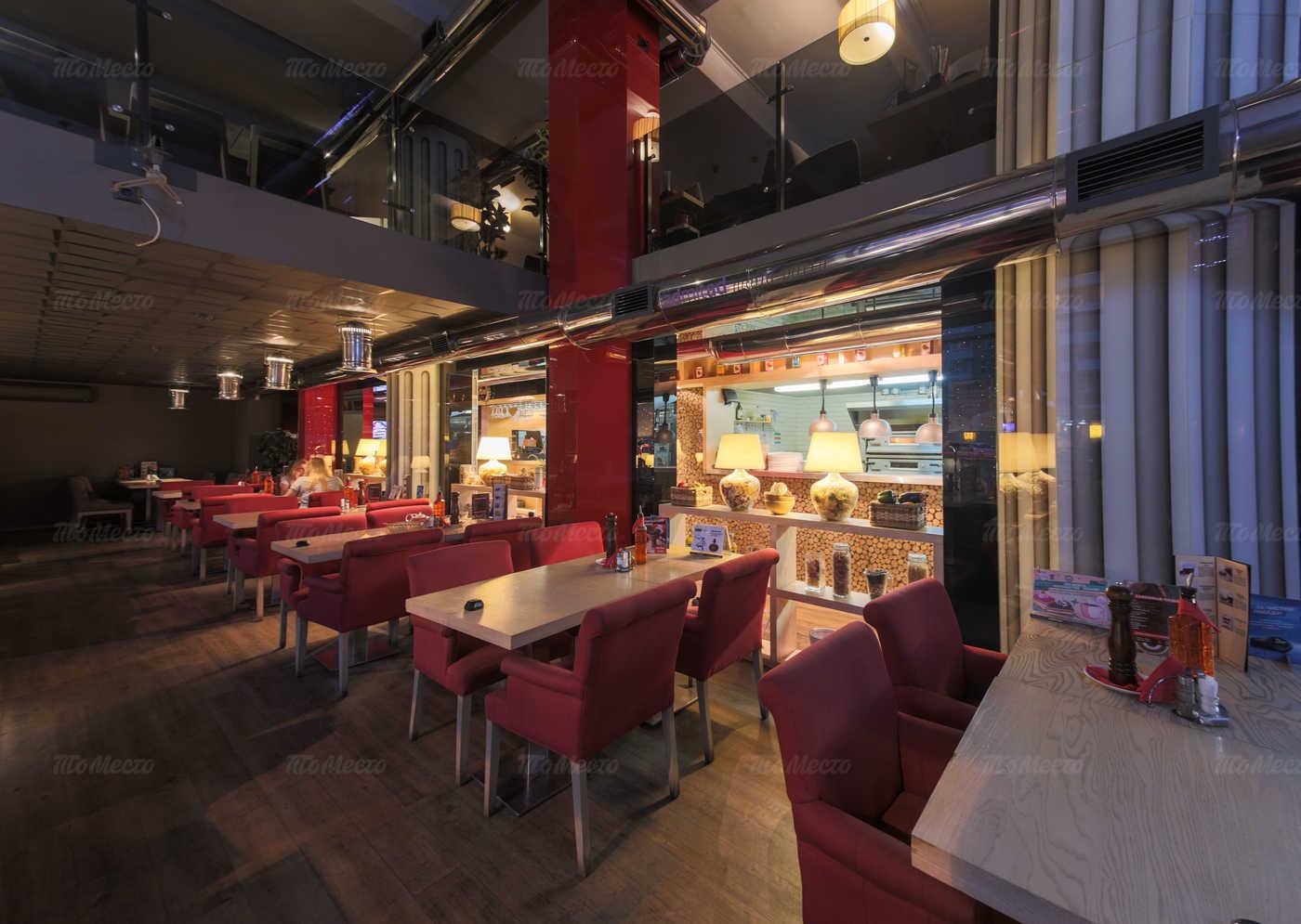 Меню кафе, ресторана Перчини РыбаРис на Краснопрудной улице