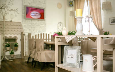 Банкетный зал кафе Марципан на Гражданском проспекте