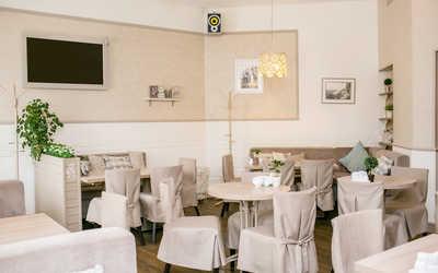 Банкетный зал кафе Марципан на Гражданском проспекте фото 2