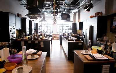 Банкетный зал ресторана Кулинарная студия Юлии Высоцкой на улице Правды