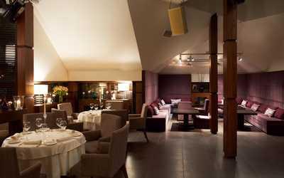 Банкетный зал бара, ночного клуба, ресторана Андиамо (Andiamo cafe) на улице Остоженка фото 1