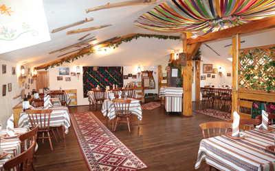 Банкетный зал ресторана Корчма Тарас Бульба в Шмитовском проезде