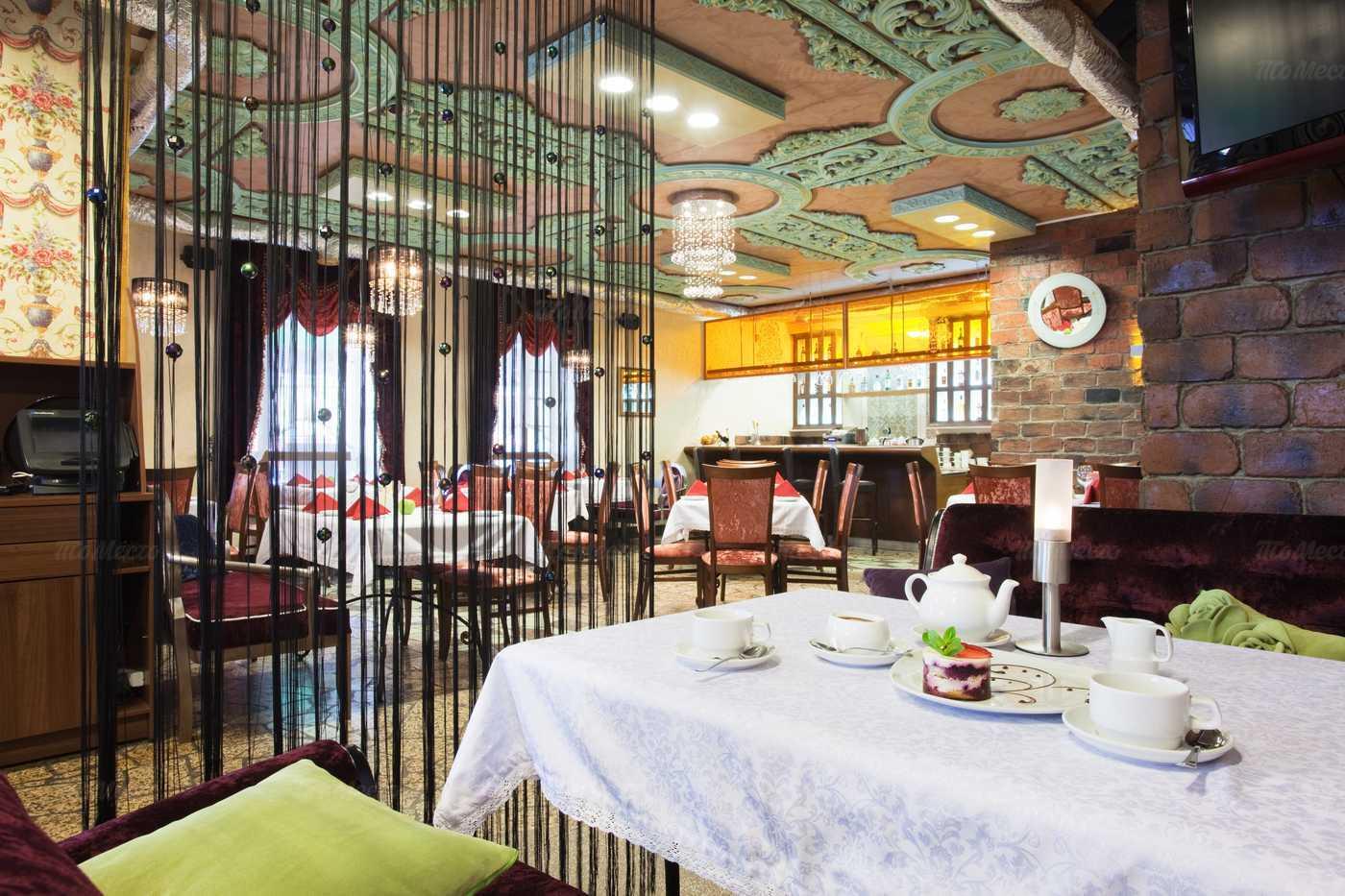 Меню кафе Грильяж на улице Академика Шварца