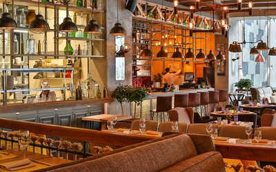 Банкетный зал кафе, ресторана Кинза-Дза на Мичуринском проспекте