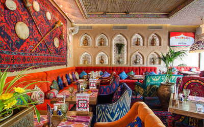 """Банкетный зал ресторана Чайхана """"Павлин Мавлин"""" на Аминьевском шоссе фото 3"""