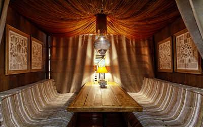 Банкетный зал ресторана Бельмесы на проспекте Ленина фото 3
