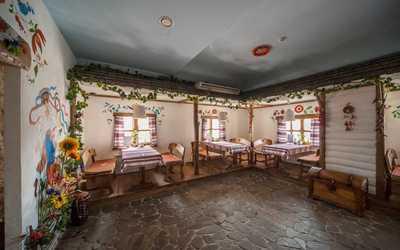 Банкетный зал ресторана Шинок на Ново-Вокзальной улице
