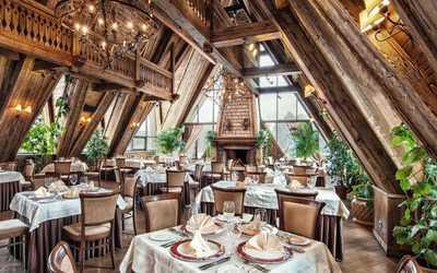 Банкетный зал ресторана Нарат на Горьковском шоссе фото 1