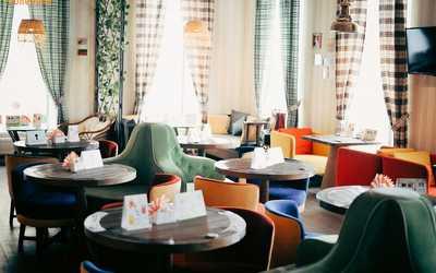 Банкетный зал кафе Облепиха на улице Пушкиной фото 1
