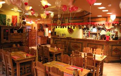 Банкетный зал ресторана Мехико на улице Некрасова