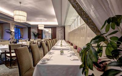 Банкетный зал ресторана Imperial Restaurant (Империал) на Невском проспекте