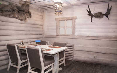 Банкетный зал ресторана Экспедиция на Железнодорожной улице