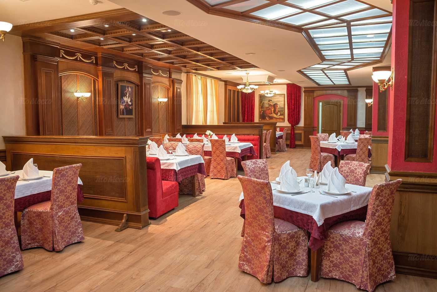 Меню ресторана Царская охота на проспекте Дзержинского