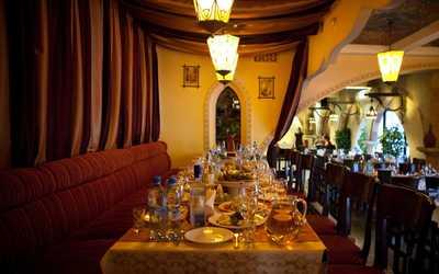 Банкетный зал ресторана Аладдин на улице Романова фото 3