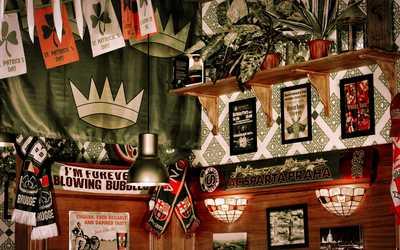 Банкетный зал паба Dark Patrick's (Дарк патрик) в Большом Златоустинском переулке фото 2