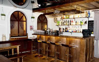 Банкетный зал бара, паба, пивного ресторана Пан Шаманек на Красном проспекте фото 1
