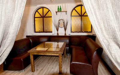 Банкетный зал бара, паба, пивного ресторана Пан Шаманек на Красном проспекте