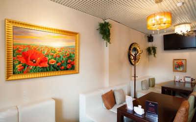 Банкетный зал ресторана Из Маков на проспекте Елизарова