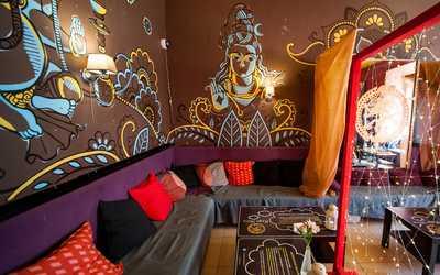 Банкетный зал кафе Shiva (Шива) на улице Восстания