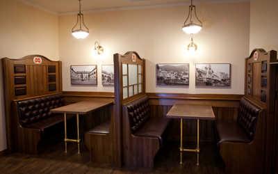 Банкетный зал пивного ресторана Швейк (Svejk) на улице Фрунзе фото 2