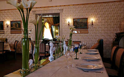 Банкетный зал ресторана Европа на улице Ленина фото 3