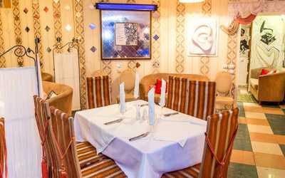 Банкетный зал кафе, ресторана Остап на улице Рихарда Зорге