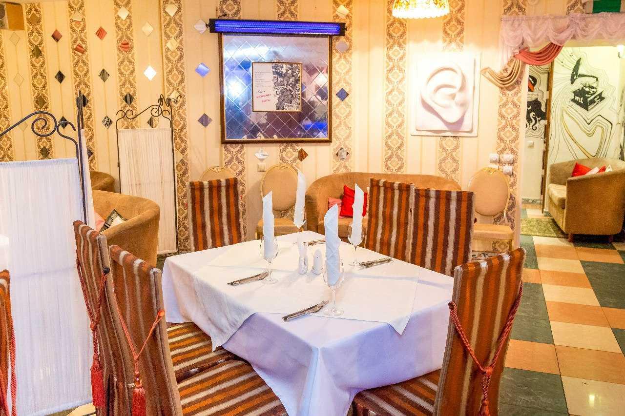 Меню кафе, ресторана Остап на улице Рихарда Зорге