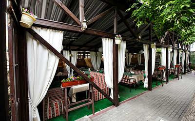 Банкетный зал кафе Зеленое на Коммунистической улице