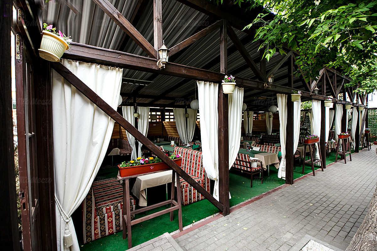 Меню кафе Зеленое на Коммунистической улице