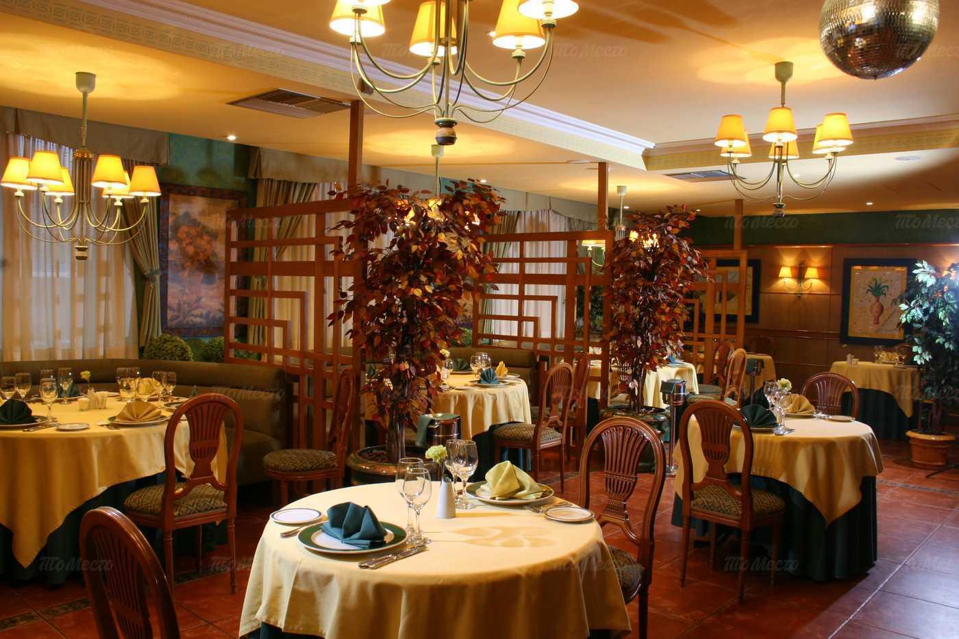 Меню ресторана Эрнест на улице Космонавта Беляева