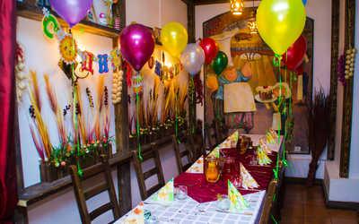 Банкетный зал кафе Золотой ключик на улице Ленина фото 2