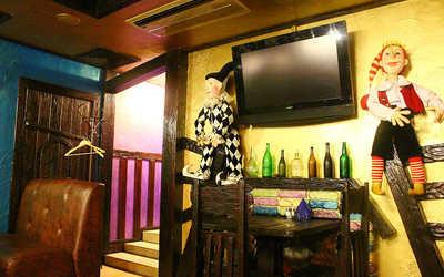 Банкетный зал кафе Длинный нос на Комсомольском проспекте