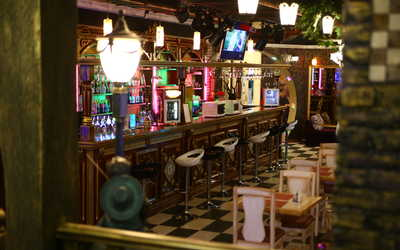 Банкетный зал ночного клуба, ресторана Аурум ((бывш. Белый рояль, Панорама)) на улице Куйбышева фото 3