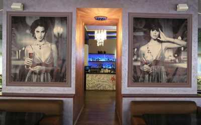 Банкетный зал ресторана Кабуки на улице Свободы