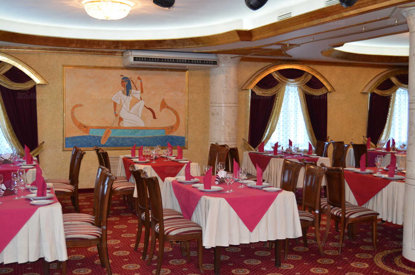 Меню кафе, ресторана Фараон на улице 25 Января