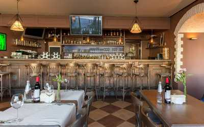 Банкетный зал ресторана Terra & Mare (бывш. Gambrinus) на Цветном бульваре