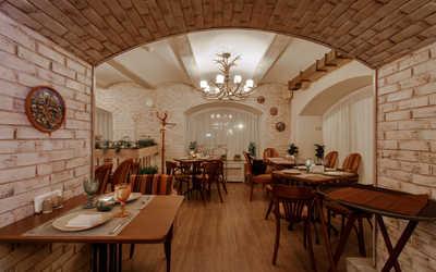 Банкетный зал кафе Натахтари в Большом Черкасском переулке