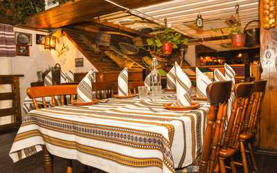 Банкетный зал ресторана Корчма Тарас Бульба на Велозаводской улице