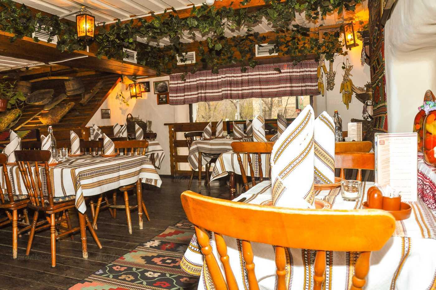 Меню ресторана Корчма Тарас Бульба на Велозаводской улице