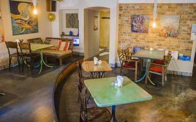 Банкетный зал кафе Ауровилль на улице Радищева