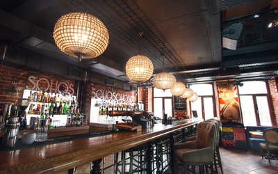 Банкетный зал ресторана SOHO (Сохо) на улице Октябрьской фото 2