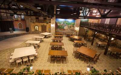 Банкетный зал кафе Ореро (Orero) на Вольском тракте