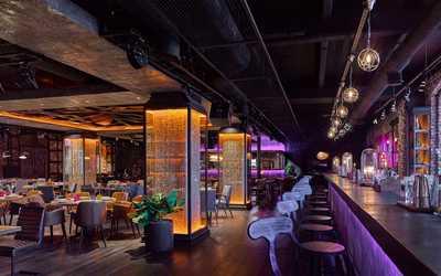 Банкетный зал ресторана Жизнь Пи на Саввинской набережной