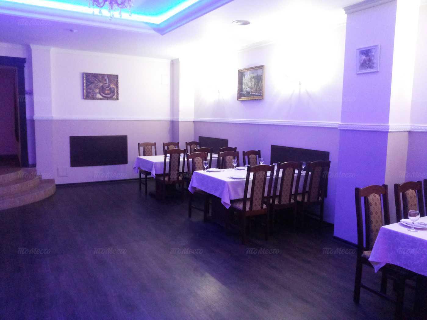Меню кафе АрАрАт на Тайнинской улице