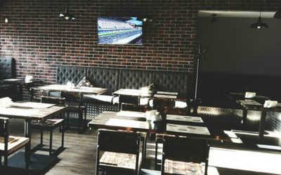 Банкетный зал бара, пивного ресторана Max Power на Нижегородской улице
