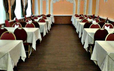 Банкетный зал кафе Волжанка на улице Комсомольской